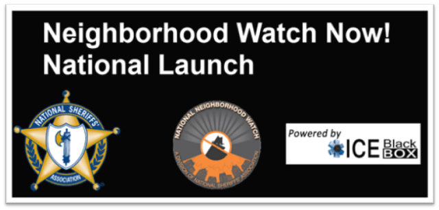 Neighborhood Watch Now!